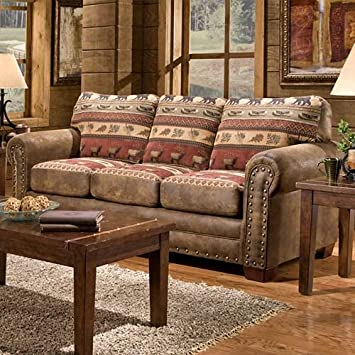 American Furniture Classics Model Sofas, Sierra Lodge Tapestry