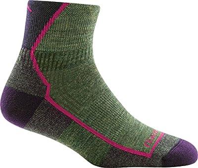 DARN TOUGH (Style 1958) Women's Hiker Hike/Trek Sock - Moss Heather, Large
