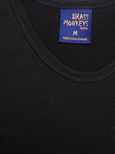 5133S3sfDFL - Brass Monkeys | Crew Neck Thermal | 100% Merino Wool | Made in New Zealand
