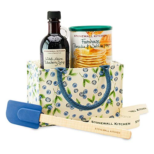 Stonewall Kitchen Blueberry Tote Gift (4 Piece Gift)
