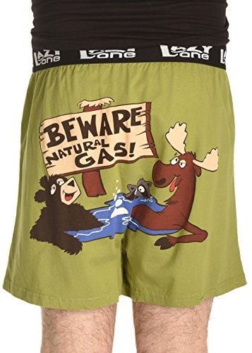 LazyOne Herren Boxershort Full of Bull Large