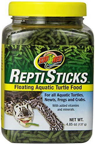 Zoo Med ReptiSticks Floating Aquatic Turtle Food, 4.85-Ounce