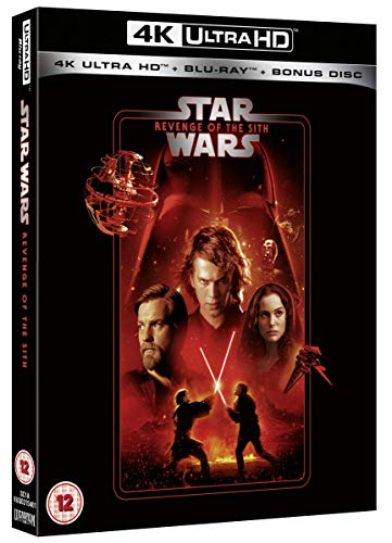 Star Wars Episode III: Revenge of the Sith [Blu-ray] [2020] [Region Free]
