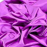 Satin-Stoff in lila Farbe, für Hochzeitskleid, Dekoration,