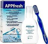 Detergente liquido; Antibatterico e antiaggregante; Dotato di spazzolino specifico; Economico di lunga durata;