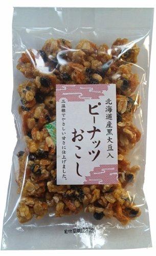 アヤベ 北海道産黒大豆入ピーナッツおこし 210g