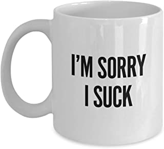 Apology Mugs Im Sorry Gifts For Her Apologizing Coffee Cup Present For Him A Best Friend (11oz)