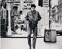 大きな写真「タクシー・ドライバー」デ・ニーロ、あまりに有名な一枚