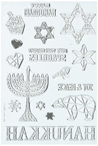 Hero Arts Happy Hanukkah Stamp (CM216)