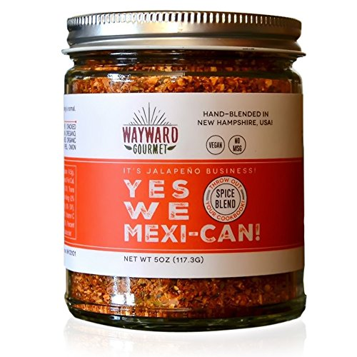 Yes We Mexi-Can Rub & Seasoning by Wayward Gourmet - Mexican, Taco & Fajita Spice Blend