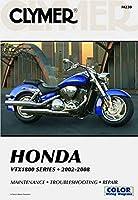 Honda VTX1800 Series 2002-2008 (CLYMER MOTORCYCLE REPAIR)