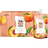 Rawel Delicous Diet Konjac Jelly 1box / 10packs / Dietary Supplement for Weight Loss/Low Calories (Peach)