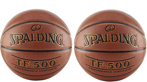 Sale!! Spalding Tf-500 Basketball (Official 2-Pack)