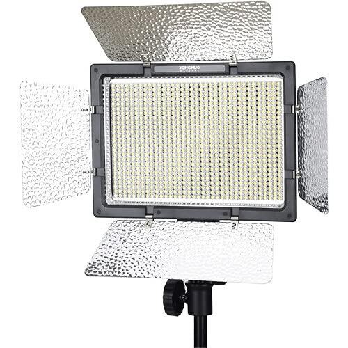 Yongnuo YN900 -Luz LED para iluminación fotográfica (7200 lm, 3200 - 5500 K, 95%), color negro