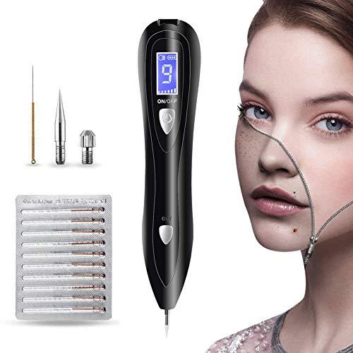 CGBF-Retrait de Taupe Spot Mole Remover Pen Skin Tag Remover USB Charge Machine de Beauté de La Peau avec Écran LCD Parfait pour Enlever Tattoo Verrue