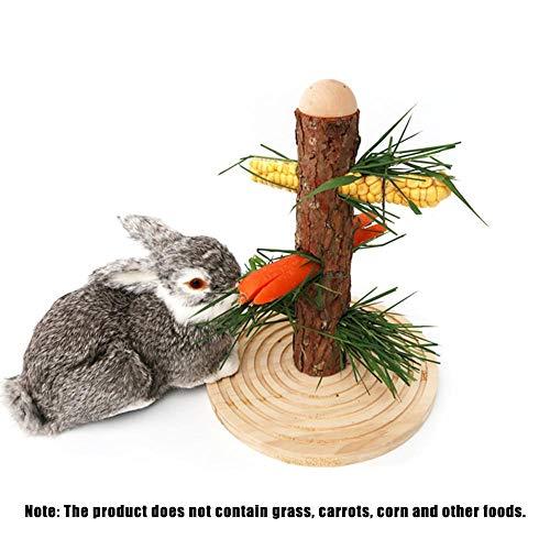 Jiang Hui Automatisierte Futterspender Futterbaum Für Kaninchen, Meerschweinchen, Ratten und Degus hervorragend geeignet.