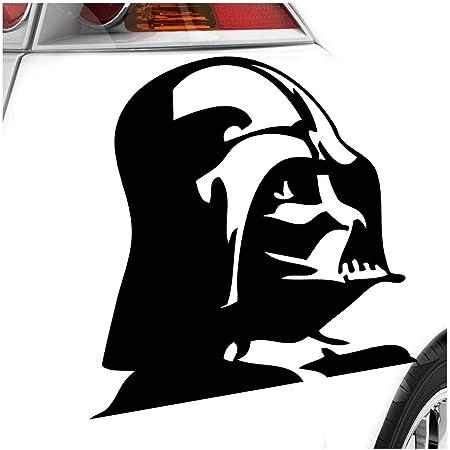 Darth Vader 11 X 11 Cm In 15 Farben Neon Chrom Sticker Aufkleber Auto