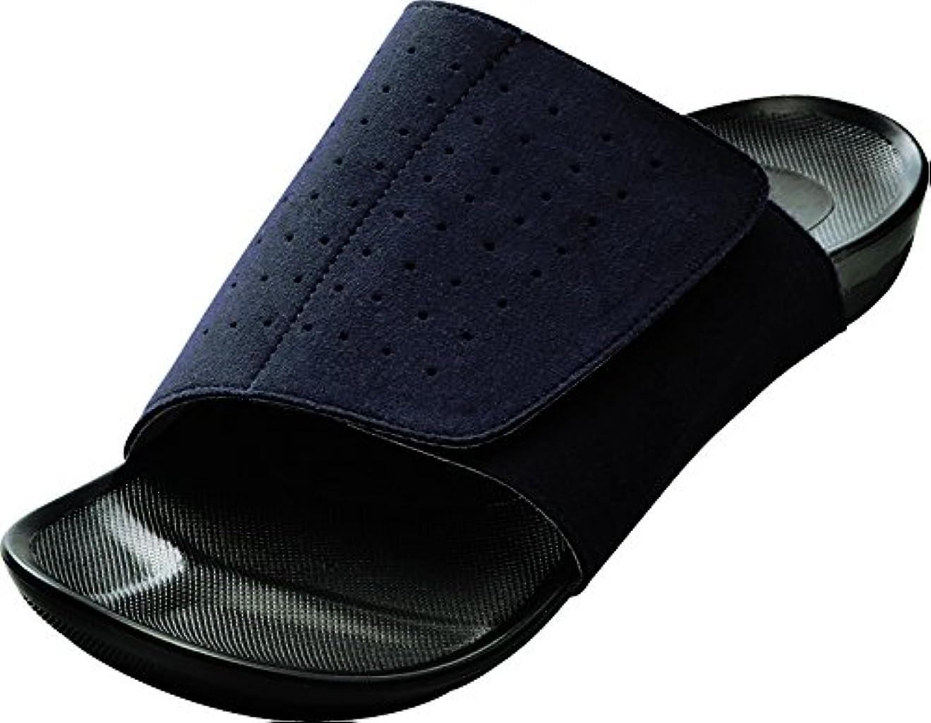 提出する委任する非互換AKAISHI アーチフィッター室内履き 601 ネイビー LLサイズ