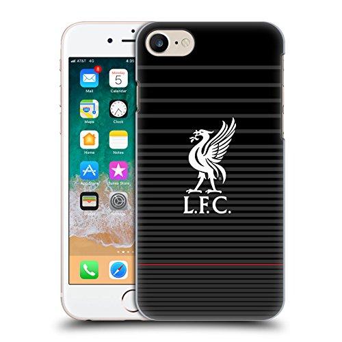 Head Case Designs Offizielle Liverpool Football Club Kit Weiss Und Schwarz Liver Bird Harte Rueckseiten Handyhülle Hülle Huelle kompatibel mit Apple iPhone 7 / iPhone 8 / iPhone SE 2020