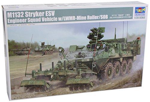 Trumpeter 01574 Kit de modélisme M1132 Stryker Engineer Squad Vehicle