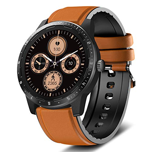 MorePro Smart Watch 20 Sport Modes Fitness Tracker Health Watch Body Temperature, Activity Tracker with Heart Rate Blood Pressure Sleep Monitor, IP68 Waterproof Smartwatch for Women Men