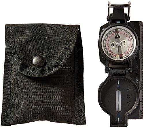 Cammenga S.W.A.T. Tritium Lensatic Compass, Black, Clam Pack
