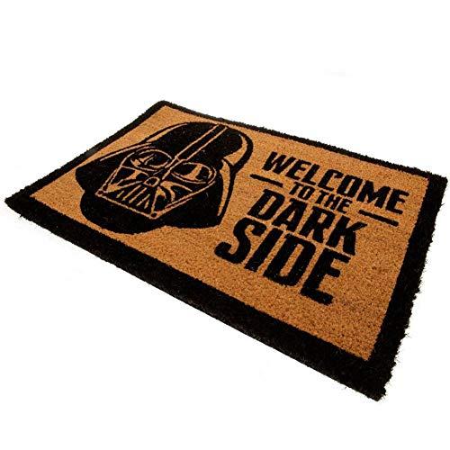 Star Wars - Felpudo modelo The Dark Side (Talla Única/Marrón)