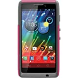 OtterBox Commuter Series Case for Motorola RAZR HD - Retail Packaging - Pink/Gray