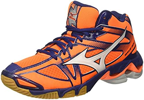 Mizuno , Herren Herren Herren Volleyballschuhe Orange Arancione  beeilte sich zu sehen