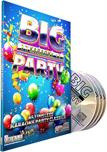 Mr Entertainer Big Karaoke Party CDG/CD+G Pack. 85 beste Partysongs