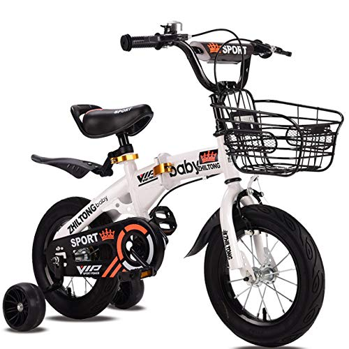 Bicicleta para niños Boy plegable 2-8 años Bebé Bizcocho 18 pulgadas Muchacha...