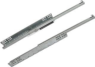 AERZETIX: Par de guías correderas para cajones extracción parcial 25kg (50cm)
