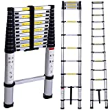 SMG Aluminium Telescopic Ladder 2 Meter Home use Ultra-Stable Folding Step Ladder