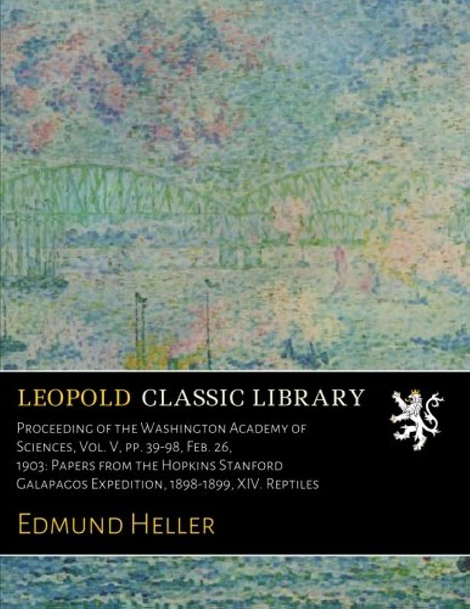 日食隠された減るProceeding of the Washington Academy of Sciences, Vol. V, pp. 39-98, Feb. 26, 1903: Papers from the Hopkins Stanford Galapagos Expedition, 1898-1899, XIV. Reptiles