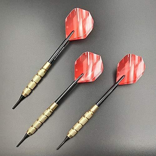 NKIE Einfach zu bedienen 3 PC/Sets Darts Professional Stahlspitze Dart mit Aluminium Wellen Dart Flights Praktisch (Color : 3)