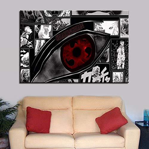 AJleil Puzzle 1000 Piezas Arte Pintura Moderna Ojos Rojos Imagen Puzzle 1000 Piezas clementoni Gran Ocio vacacional, Juegos interactivos familiares50x75cm(20x30inch)