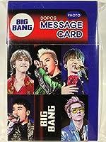 TradePlace BIGBANG ビッグバン グッズ / フォト メッセージカード 30枚セット - Photo Message Card 30pcs 韓流 K-POP 韓国製