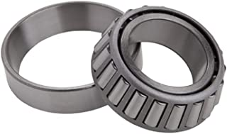 NTN Bearing 30206 Tapered Roller Bearing Cone and Cup Set, Steel, 30 mm Bore, 62 mm OD, 17.25 mm Width