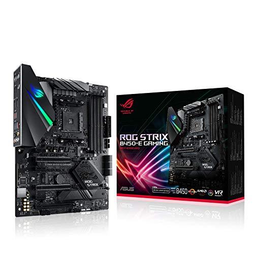 Placa-mãe para jogos ASUS ROG Strix B450-E AMD B450 AM4 ATX DDR4-SDRAM