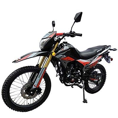 X-Pro Hawk DLX 250 EFI Fuel Injection 250cc Endure Dirt Bike Motorcycle Bike Hawk Deluxe Dirt Bike Street Bike Motorcycle,Red from X-Pro