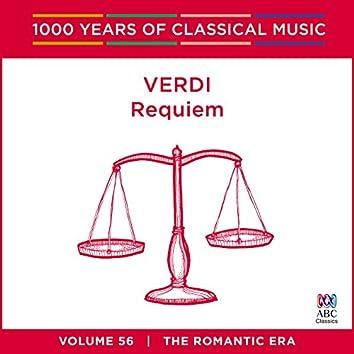 Verdi: Requiem (1000 Years Of Classical Music, Vol. 56)