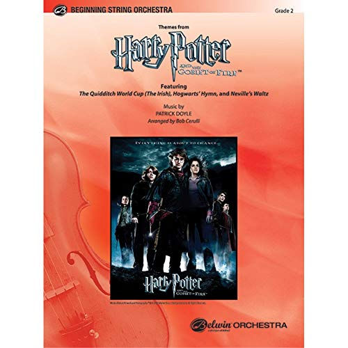 Harry Potter and the Goblet of Fire, Themes from Conductor Score & Parts