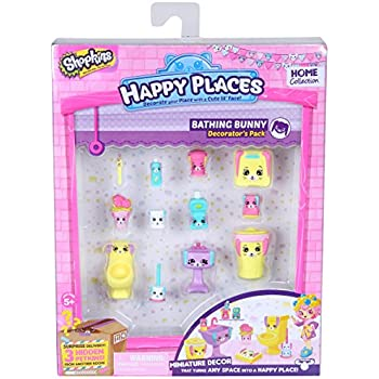 Happy Places Shopkins Decorator Pack Bathing   Shopkin.Toys - Image 1