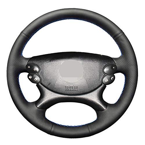 ZHANGERDAN Kunstleder Auto Lenkradabdeckung.Für Mercedes Benz E Klasse W211 E230 E350 E280 CLS Klasse CLS 350 500 G AMG SL CLK