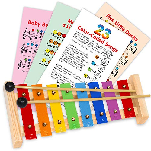 20. inTemenos Xylophone Instrument for Kids