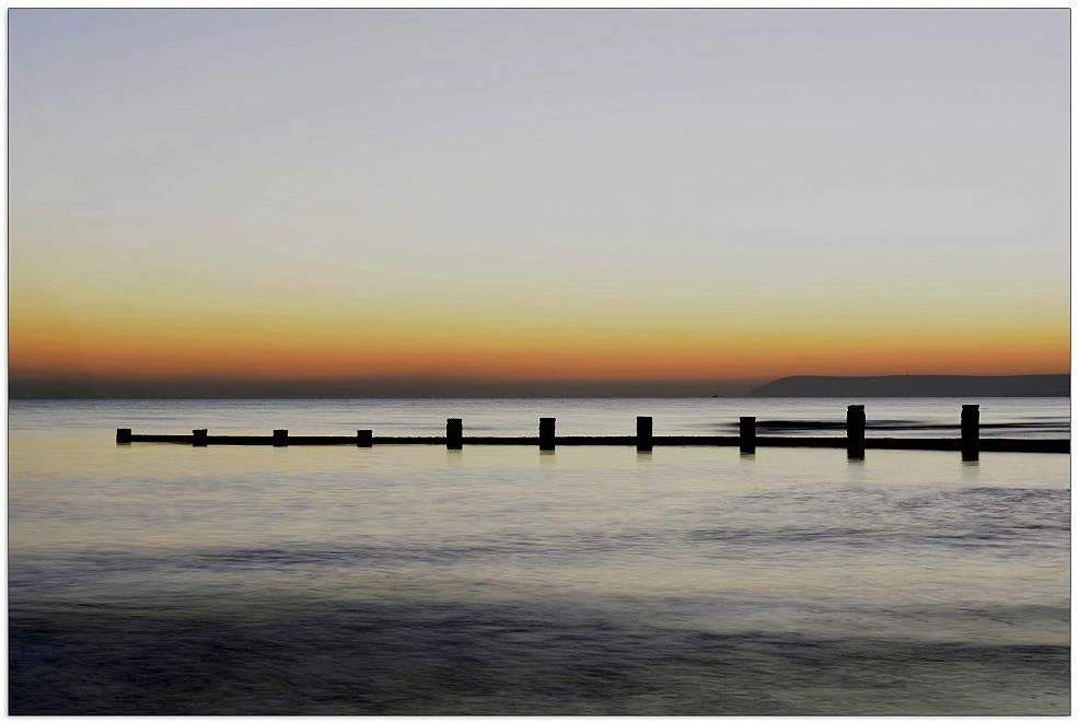 ArtPlaza Art Studio - Shipping included Sunset Decorative 39.5x27.5 Max 83% OFF Inch Panel M
