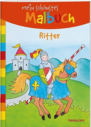Mein schönstes Malbuch. Ritter. Malen für Kinder ab 5 Jahren (Malbücher und -blöcke)