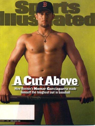 Sports Illustrated March 5 2001 Nomar Garciaparra/Boston Red Sox Cover, Dikembe Mutombo/Philadelphia 76ers, Corey Dillon/Cincinnati Bengals, Amish Country of Ohio