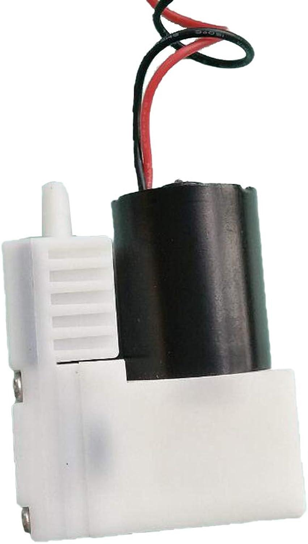 Homyl DC Mini Vacuum Pump Water Air Gas Vacuum Pump, Mini Air Pump Motor, OilLess for Lab Industrial Application   3VB12B30R65B