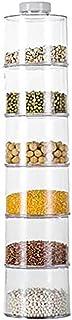 TangYang Boîtes de Rangement pour épices, Bocal Distributeur d'épices, bocaux à Condiments pour conteneurs de Stockage, Su...